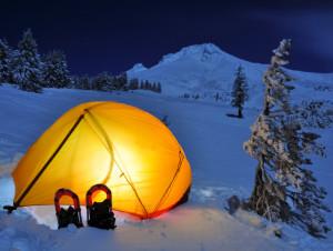 Tent at Mt. Hood